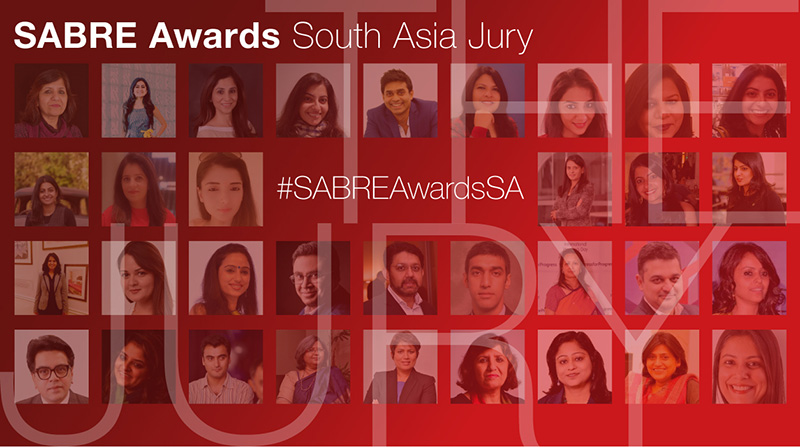 Jury for the SABRE Awards South Asia 2019